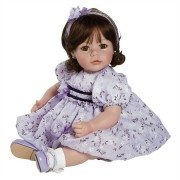 Boneca Adora Baby Doll 20� Violet and Velvet (Dark Brown Hair/Brown Eyes)