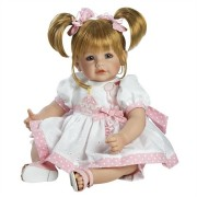 Boneca Adora Baby Doll, 20 inch �Happy Birthday Baby� Sandy Blonde Hair/Blue Eyes