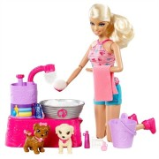 Barbie Suds and Hugs Pups Playset - Frete Gr�tis