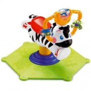 Zebra Fisher-Price Go Baby Go! Bounce