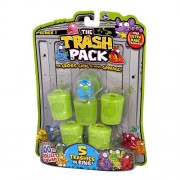 Brinquedo The Trash Pack - �Trashies� 5 Pack Collectible Figures - Frete Gr�tis