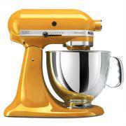 Batedeira Profissional KitchenAid (Yellow Pepper) - KitchenAid Artisan 5-Quart Stand Mixers
