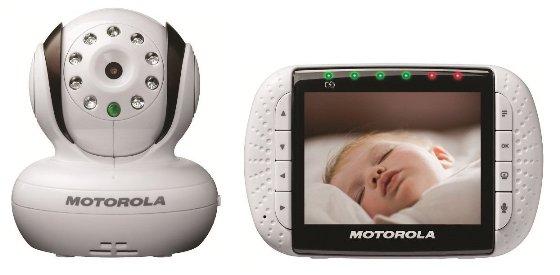 Baba eletronica Motorola Digital Video Baby Monitor with 3.5 Inch Color LCD Screen  (Bivolt 110-220 volts) - Frete Grátis - Gemas Brasil