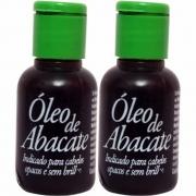 Óleo puro de abacate para cabelos secos