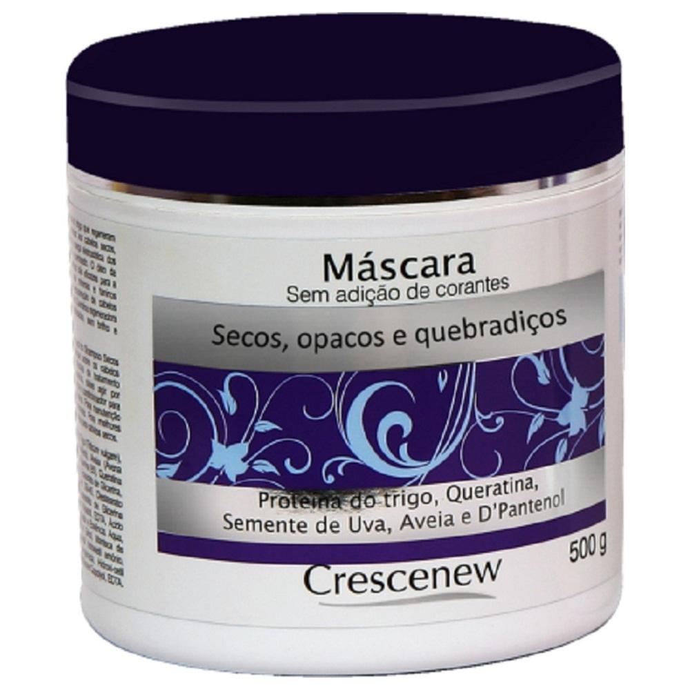 Kit Shampoo condicionador creme pentear e máscara de aveia cabelos secos crespos opacos e quebradiços