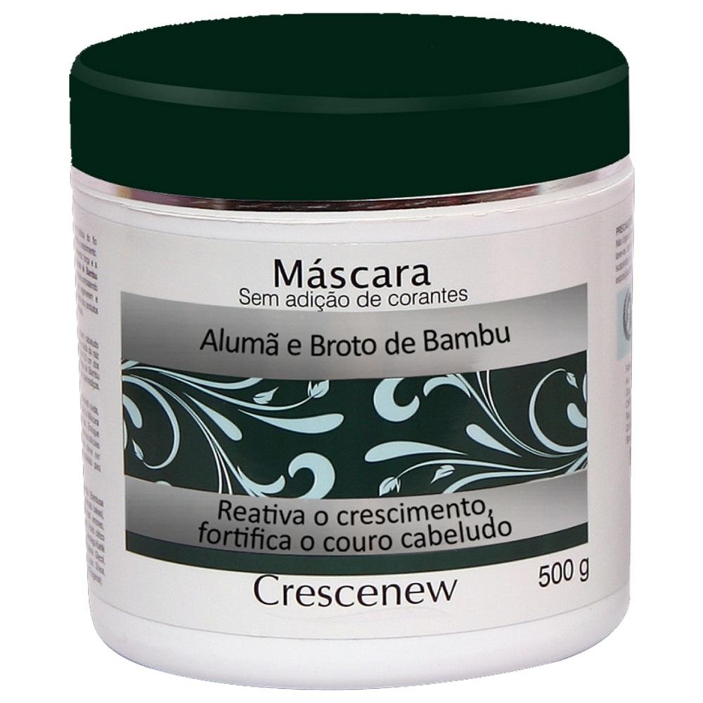 Máscara Hidratação Capilar Alumã Broto Bambu Crescenew