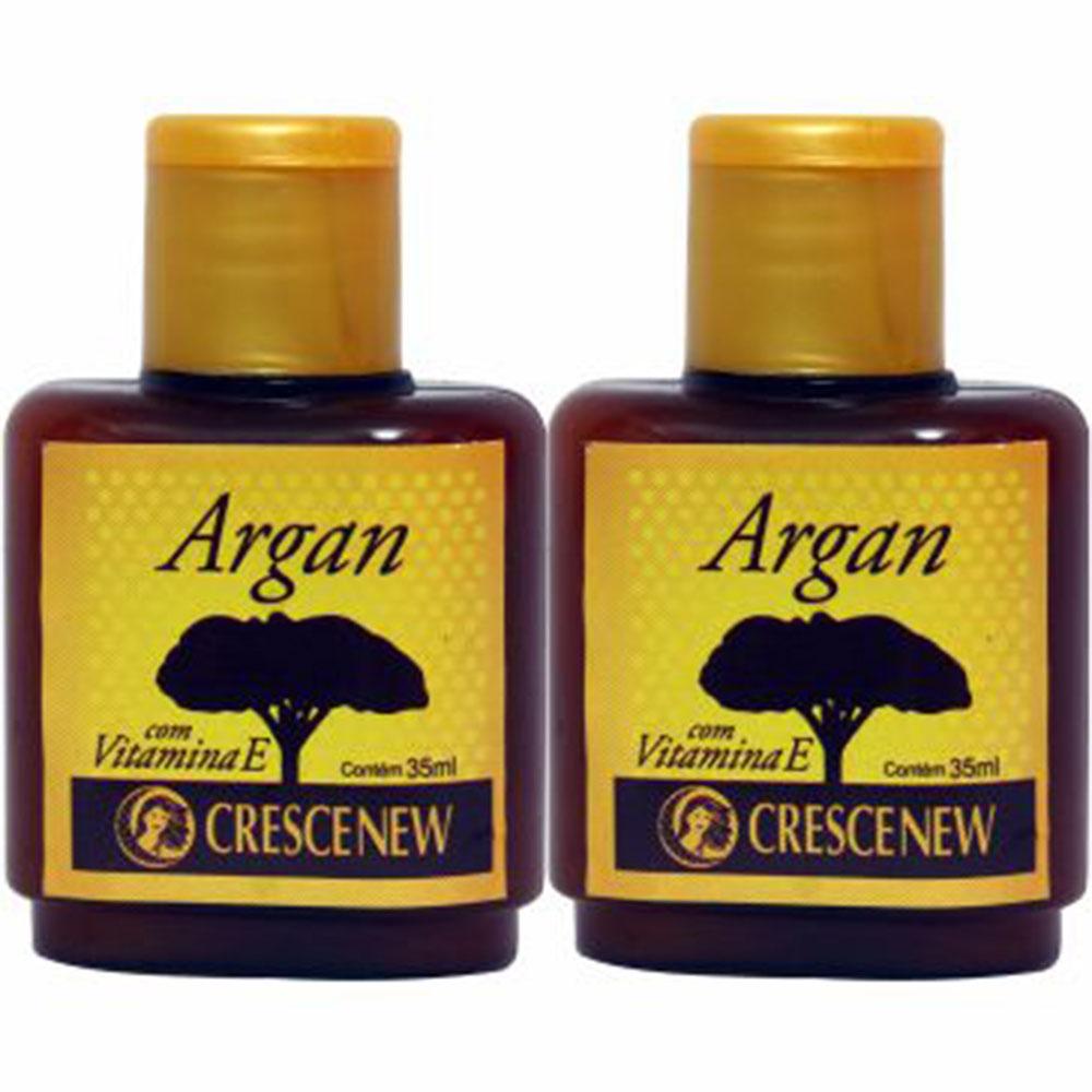 Óleo de argan puro com 2 unidades