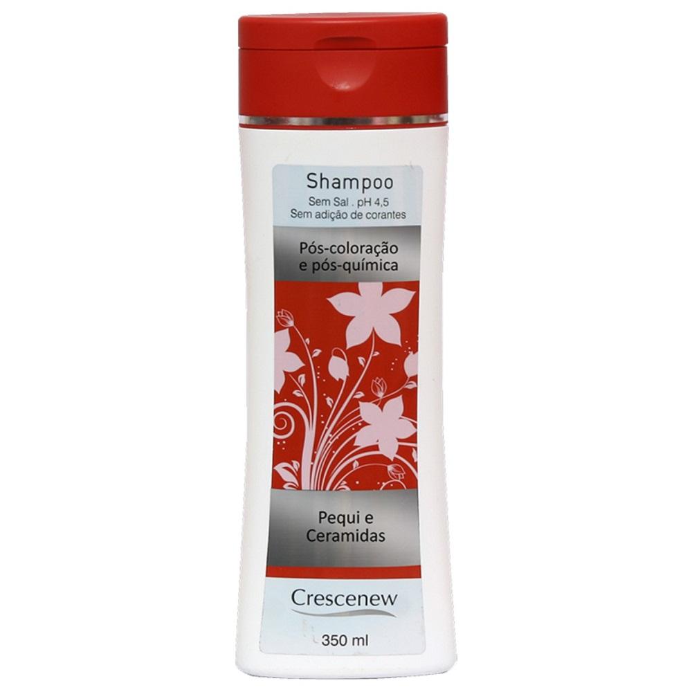 Shampoo, condicionador e creme de pentear sem enxague cabelos tintos