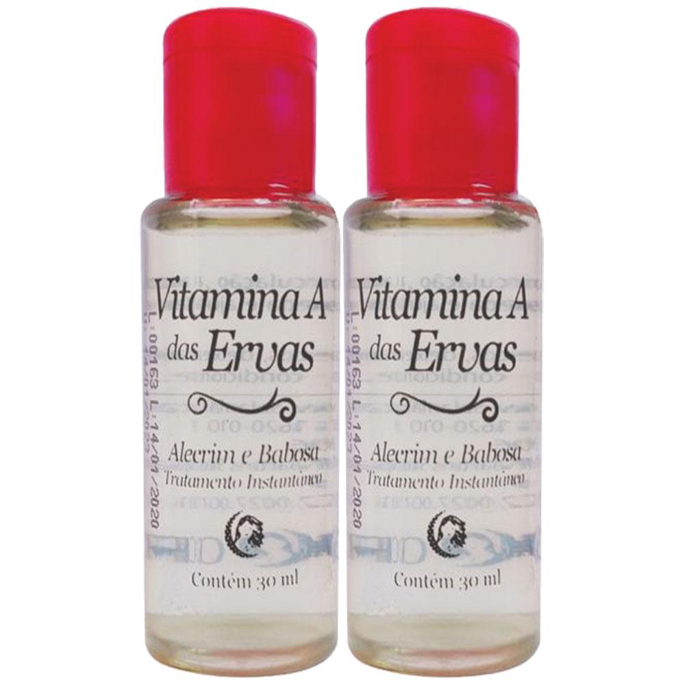 Vitamina A de ervas cabelo Crescenew