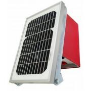 ELETRIFICADOR SOLAR COM BATERIA INTERNA - PAINEL 16W - K2000 SOL