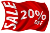 ESCALPE 20% OFF