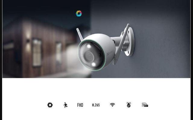 CAMERA WIFI 1080P LENTE 2,8MM 30 MTS CS-C3N-B3H2WFRL - EZVIZ