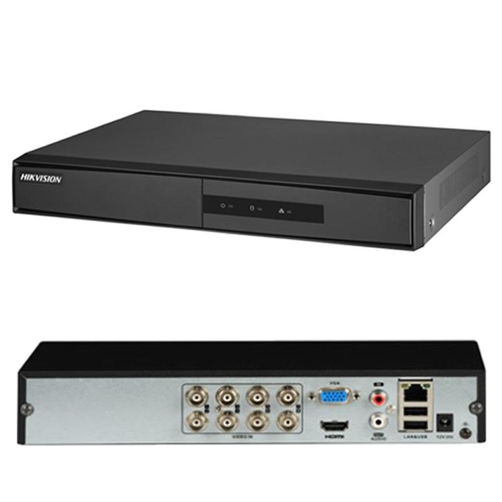 DVR TURBO HD 3.0 LITE 1080N 8 CANAIS DS-7208HGHI-K1 CVBS - HIKVISION