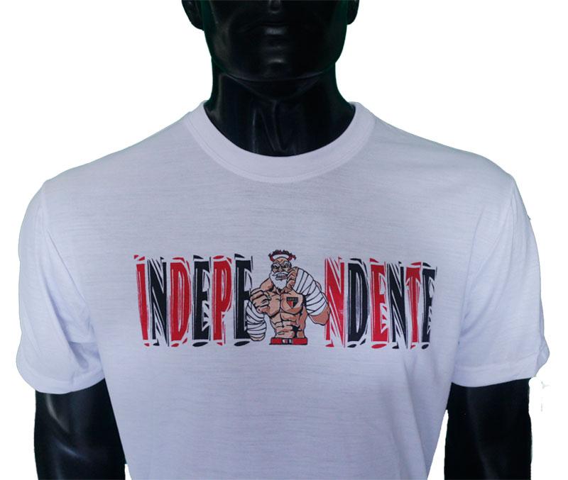 Camisa Independente Não Teme a Luta
