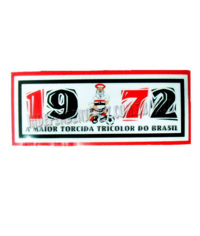 Adesivo Independente 1972