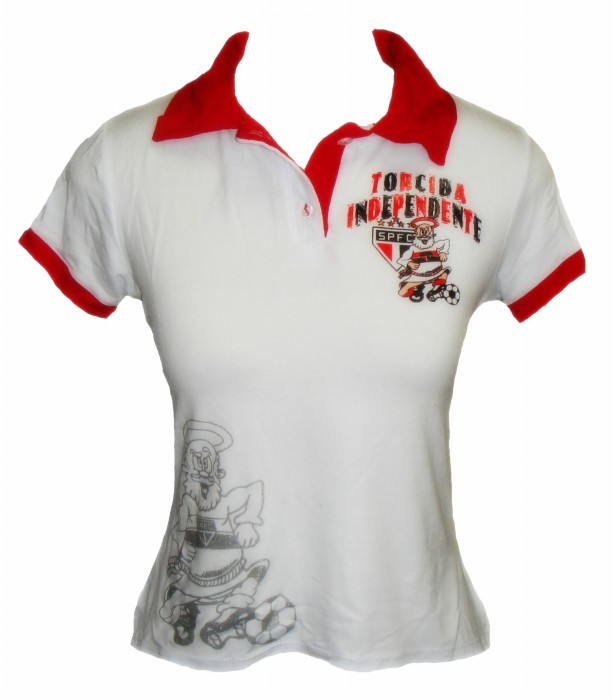 Polo Baby Look Torcida Independente