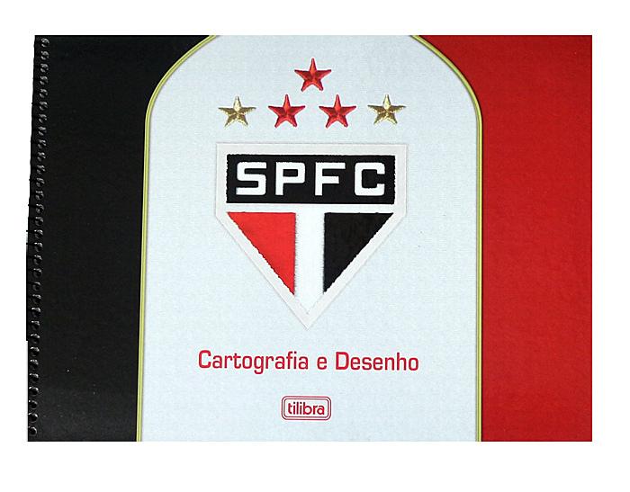 Caderno de Caligrafia São Paulo capa branca