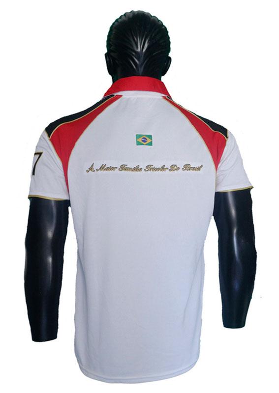 Polo Bordado Fundação Escola de Samba