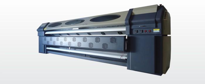 Plotter W.E.R. de Solvente 3,20 metros com resolução de 1440DPI e cabeças Seiko