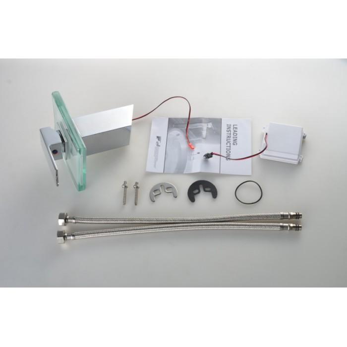 Torneira Cascata com Misturador Monocomando Loomix P-008 com LED - Muda de Cor