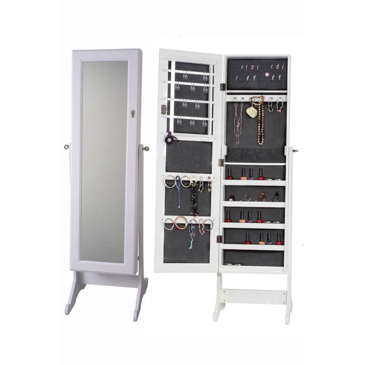 Espelho Armário Porta Joias e Acessórios W6003