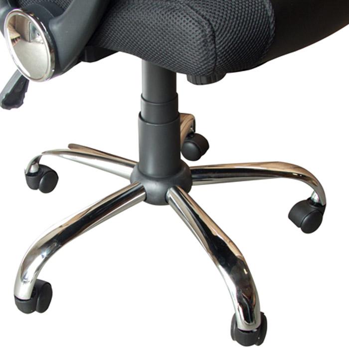 KIT com 10 Cadeiras Presidente em Tela Mesh PEL-8009 Preta