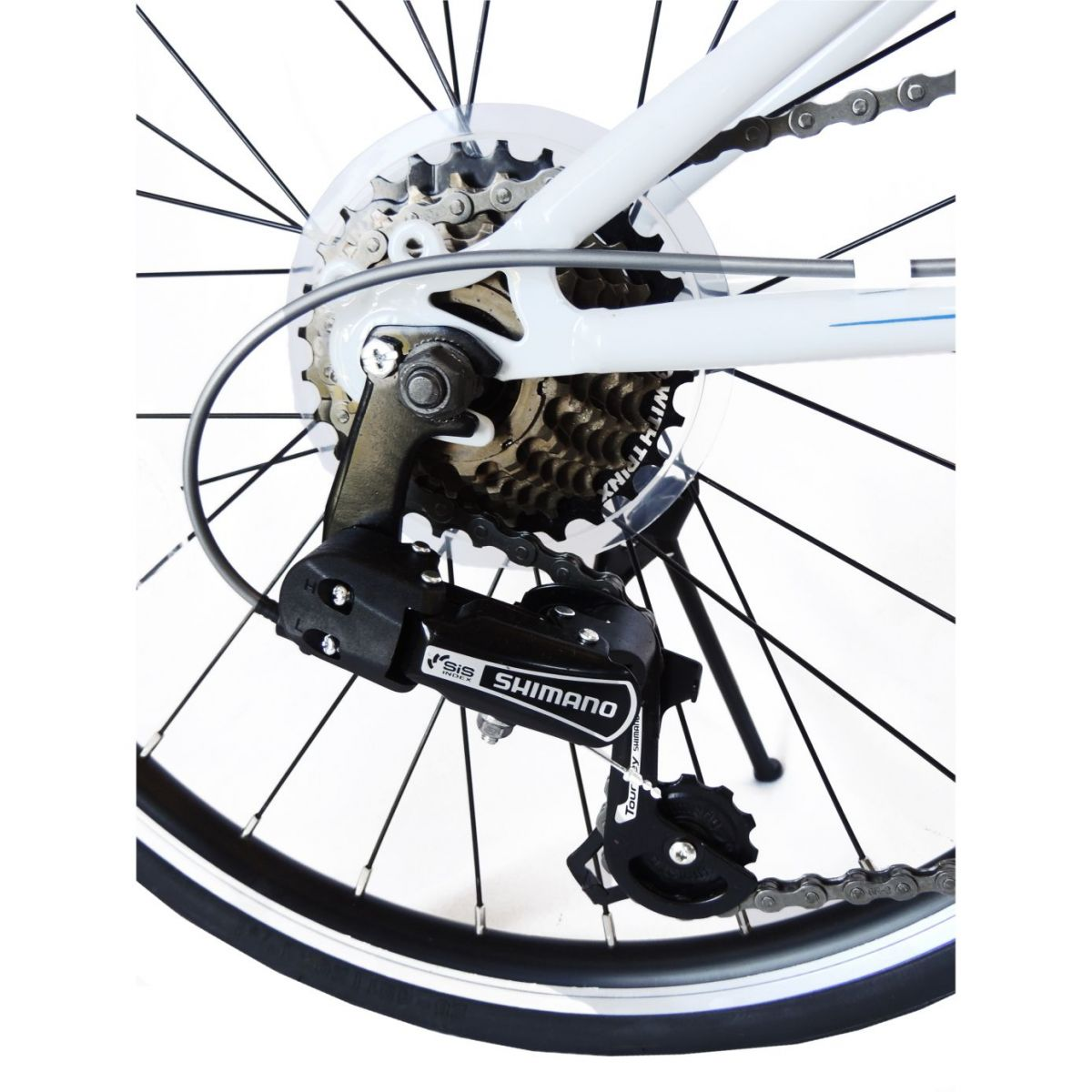 Bicicleta Trinx Dobrável Shimano 7V Aro 20 Promoção
