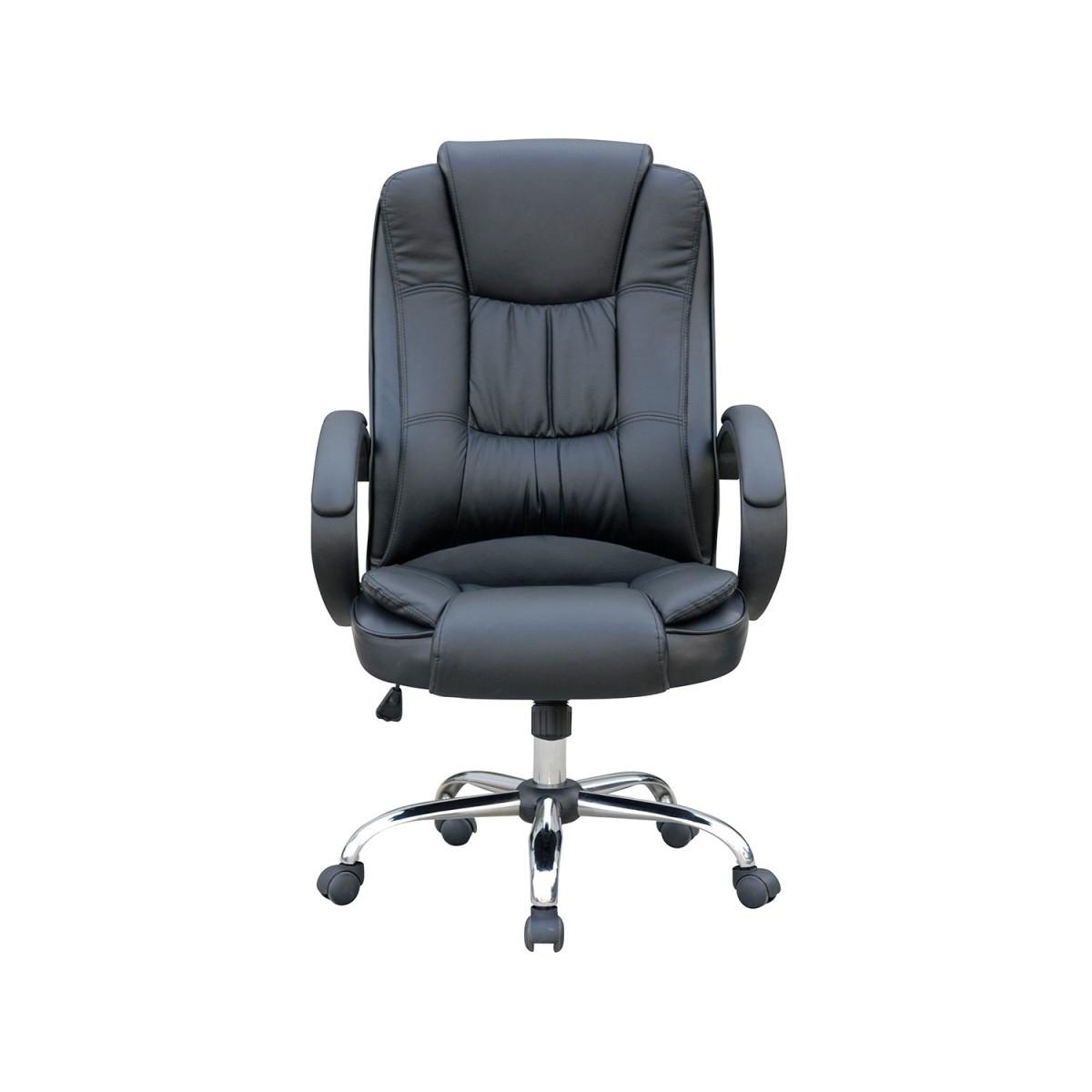 Cadeira Presidente em Couro PU Pelegrin PEL-2043