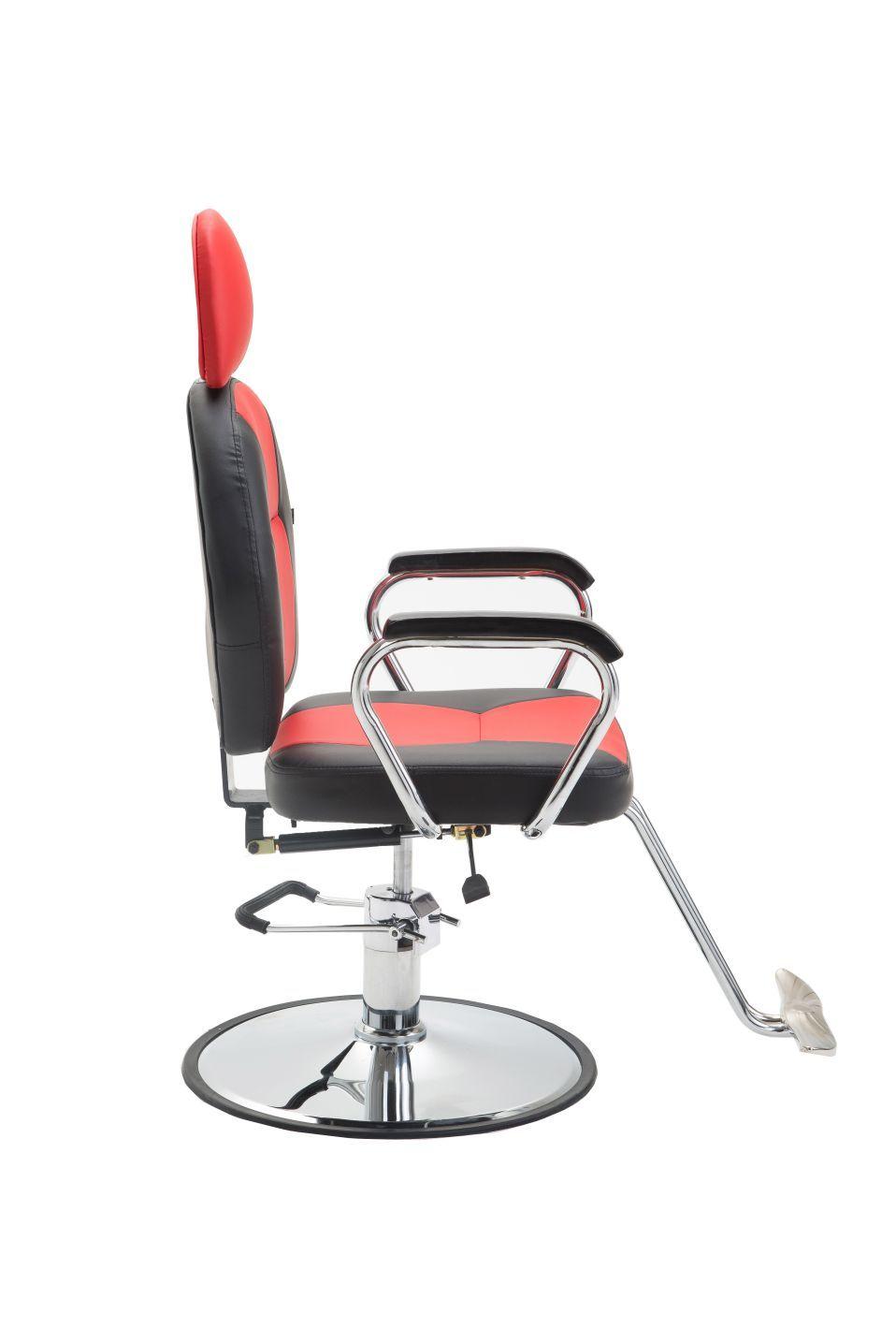Cadeira de Barbeiro Hidráulica Reclinável Pelegrin PEL-1039