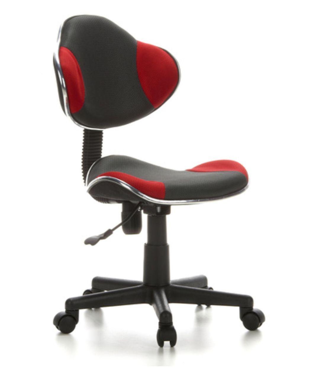 Cadeira de Escritório Secretaria Pelegrin PEL-S653 Vermelha