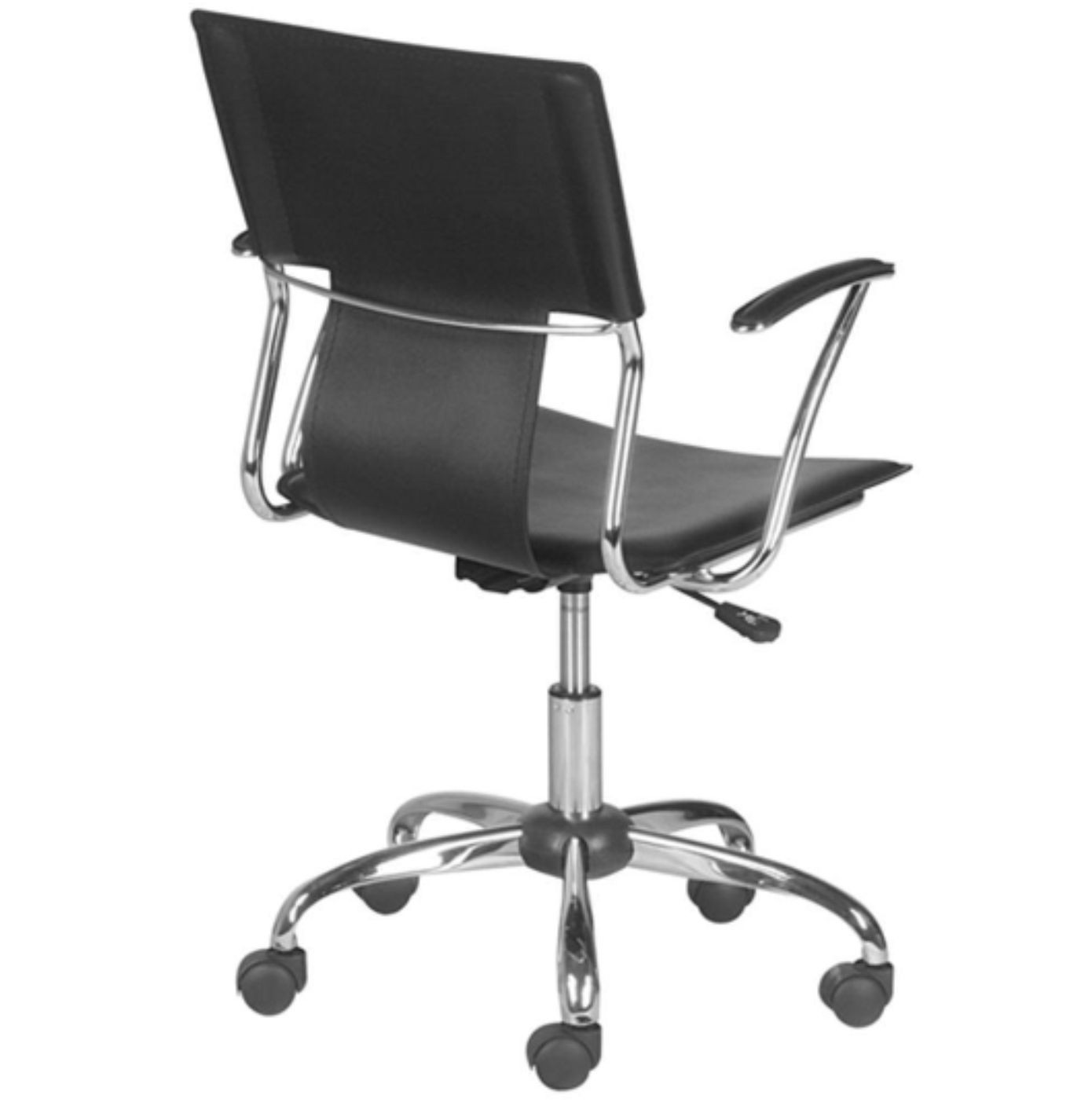 Cadeira Diretor Executiva em Couro PVC Preta Pelegrin PEL-6011