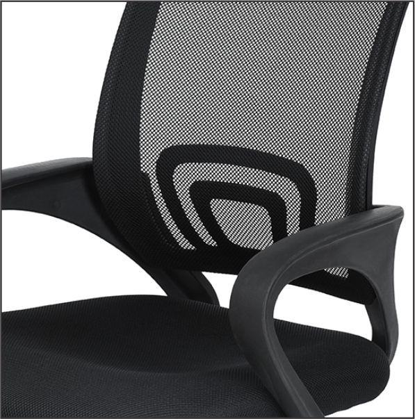 Cadeira Diretor Pelegrin Kite Pel-V11 Preta