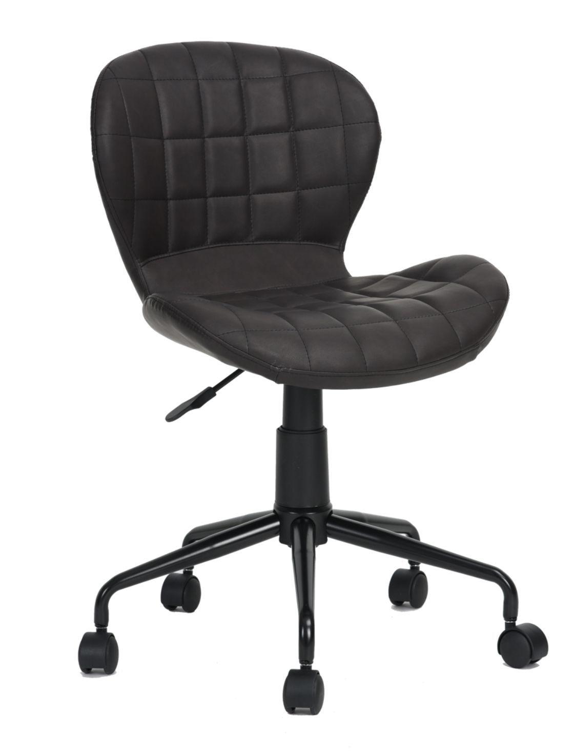 Cadeira Secretária Freedom Pel-2520 Marrom Café