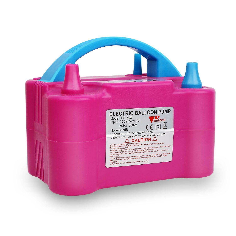 Inflador Elétrico Para Balões e Bexigas Pelegrin PEL-600W