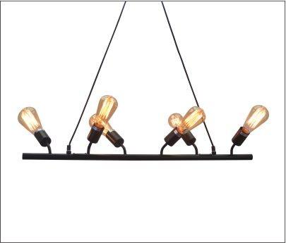 Lustre Bar Lights Retro em Metal Pelegrin PEL-053