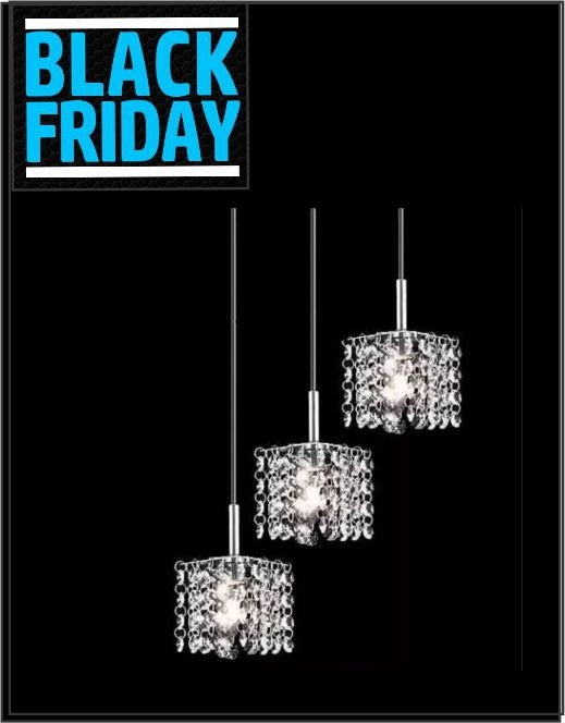 Lustre Crystal Pelegrin PEL-015 Adornos Cristal - Black Friday