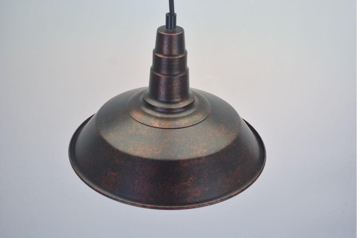 Lustre Pendente Retro Industrial II Metal Pelegrin PEL-041