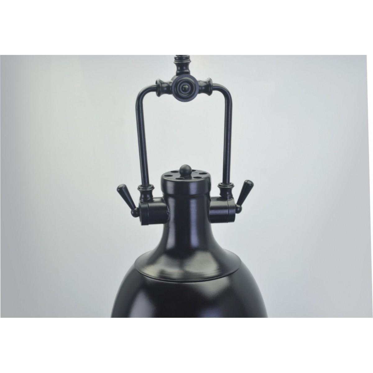 Lustre Pendente Retro Industrial V Metal Pelegrin PEL-046