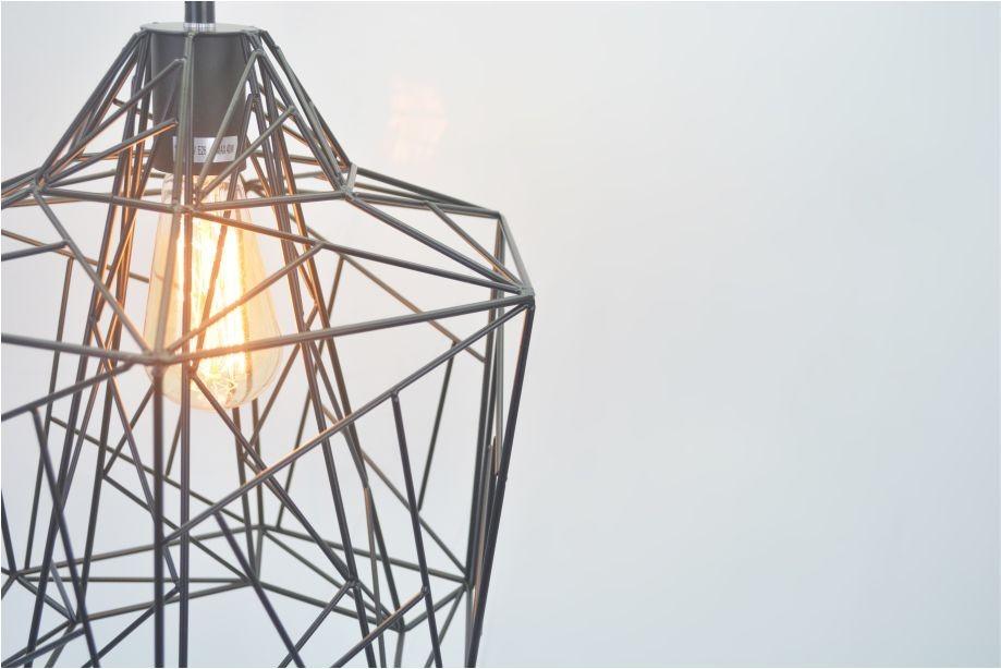 Lustre Pendente Retro Wire Aramado em Metal Pelegrin PEL-034