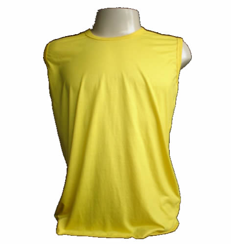 Regata Machão Amarela  - Fábrica de Camisetas Impakto