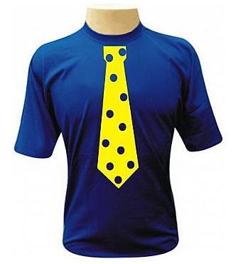 Camiseta Gravata de Bolinha
