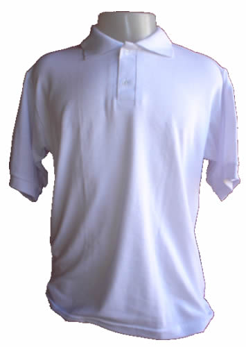 Camisa Polo Masculino  Branca