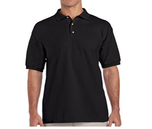 Camisa Polo Masculino Preta  - Fábrica de Camisetas Impakto