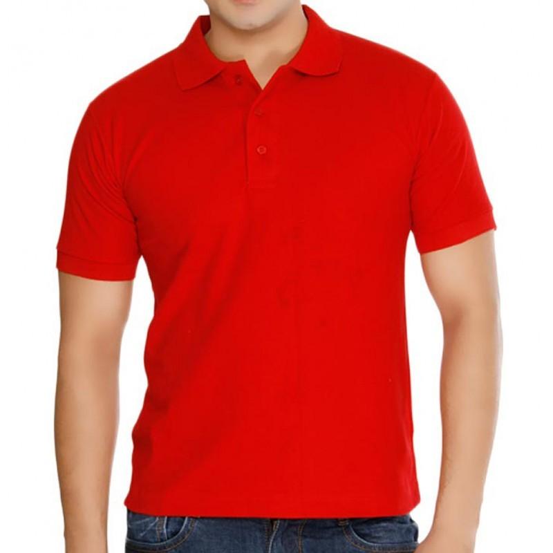 Camisa Polo Masculino Vermelha