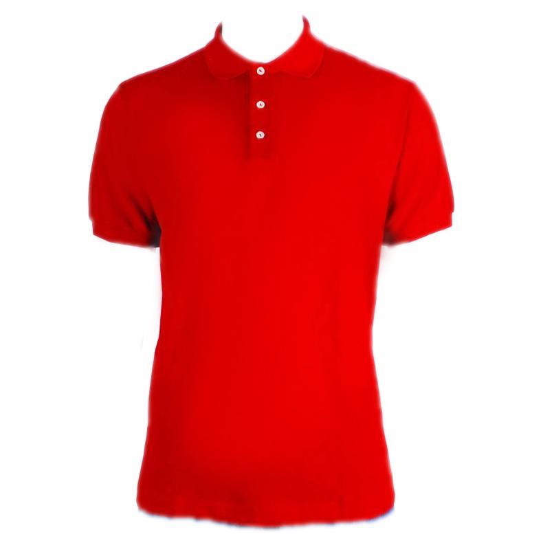 c50bf80811 ... Camisa Polo Masculino Vermelha - Fábrica de Camisetas Impakto ...