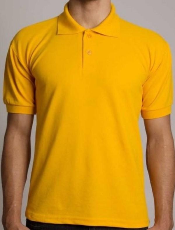 Camisa Polo  Masculino Amarelo