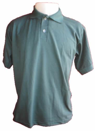 Camisa Polo Verde Musgo