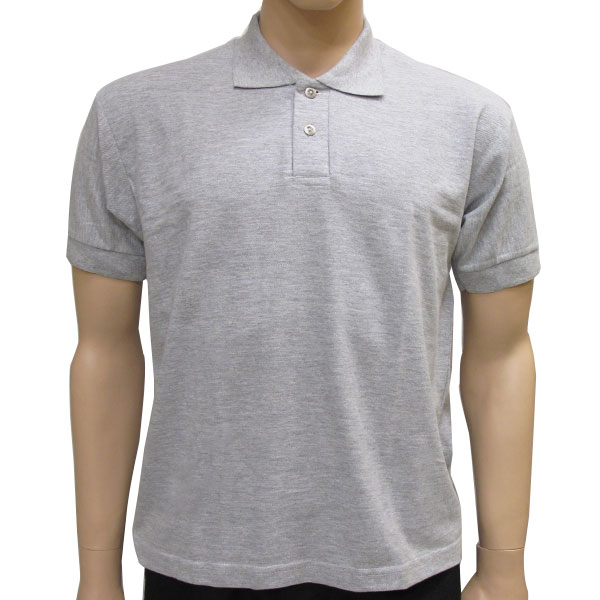 Camisa Polo  Masculina Cinza