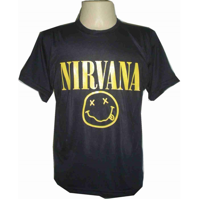Camiseta BANDA NIRVANA  - Fábrica de Camisetas Impakto