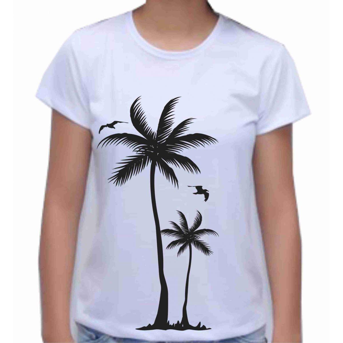 Camiseta coqueiro  - Fábrica de Camisetas Impakto